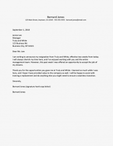 Resignation Email with Notice Period - Best Resignation Letter